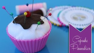 getlinkyoutube.com-DIY ✧ Cupcake Pincushion ✧