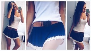 getlinkyoutube.com-DIY: Transformando BLUSA em SAIA!