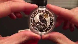 "getlinkyoutube.com-1997 Australian Kookaburra Gold Panda Privy!! -PlataStacker1 ""Special Coin"" Contest"