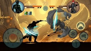 getlinkyoutube.com-Shadow Fight 2 - SHADOW Vs MAY [ECLIPSE MODE].