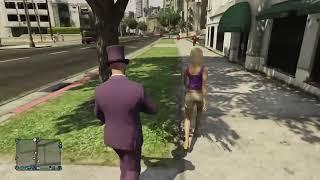 getlinkyoutube.com-GTA V ONLINE: LA CHISTERA DE LA MUERTE!