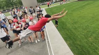 Parkour and Freerunning 2018 - Epic Tricks