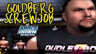 getlinkyoutube.com-GOLDBERG GETS SCREWED! WWE Smackdown! Here Comes the Pain Season Mode