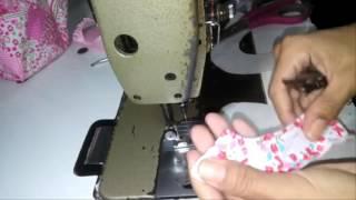 getlinkyoutube.com-Sapatinho de bebe basico como fazer