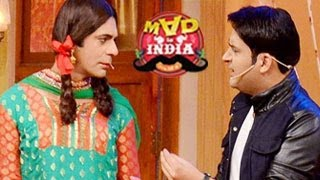 getlinkyoutube.com-Kapil Sharma SPECIAL APPEARENCE on Sunil Grover's Mad In India 23rd February 2014 episode