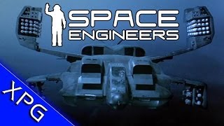 getlinkyoutube.com-Space Engineers : Aliens Drop Ship (Community Build)