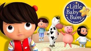 getlinkyoutube.com-Five Little Baby Bum Friends Jumping On The Bed | Nursery Rhymes | Original Song By LittleBabyBum!