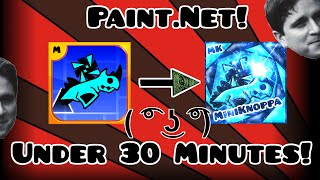 How to create a Geometry Dash profile picture! WITHOUT PHOTOSHOP!