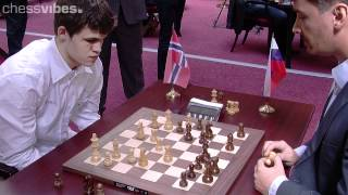 getlinkyoutube.com-Carlsen-Morozevich, World Blitz Championship 2012