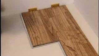 ¿Como se instala un suelo de madera?
