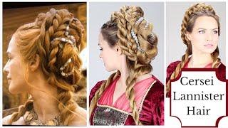 getlinkyoutube.com-Cersei Lannister Purple Wedding Hair