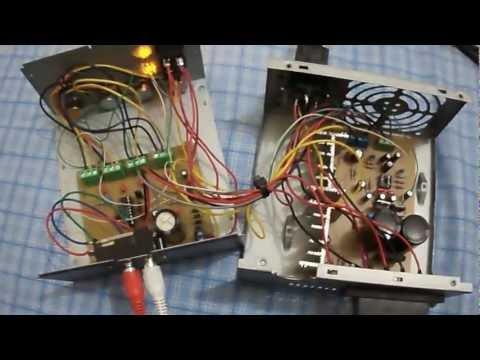 Amplificador Caseiro com TDA 2050. Parte 1.