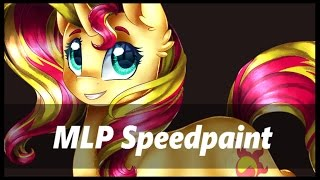 .:MLP Speedpaint:. Sunset Shimmer