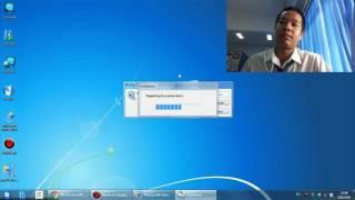 getlinkyoutube.com-การติดตั้ง Driver Printer และ Share Printer Canon MP237