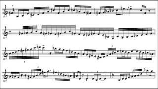 Michael Brecker plays the Blues - solo transcription