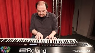 Roland RD-2000 Demo #1 by Andrea Girbaudo