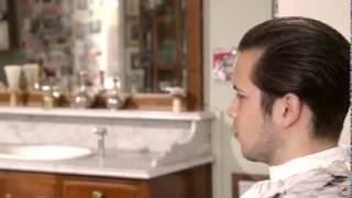 getlinkyoutube.com-How to cut a Classic Pompadour! #Schorem