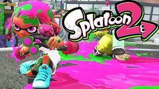 Splatoon 2 - Global Testfire #02 - Nintendo Switch Gameplay - NEW Splat Dualies & Maps - Live Stream