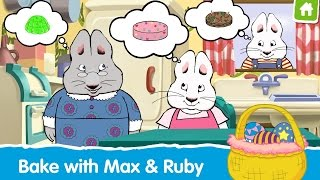 getlinkyoutube.com-Max Ruby Bunny Bake Off Educational Android İos Free Game GAMEPLAY VİDEO