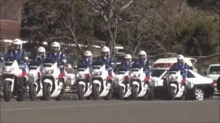 getlinkyoutube.com-平成29年茨城県警視閲式 部隊行進