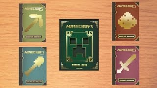 getlinkyoutube.com-Minecraft Handbooks and Annual 2014 - Review