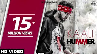 Kaali Hummer (Official Video) Maninder Buttar | Happy Raikoti | Sukh Sanghera  | White Hill Music