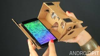 getlinkyoutube.com-صناعة نظارة 3D تعمل على جميع الهواتف . نظارة الواقع الافتراضي Cardboard