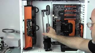 getlinkyoutube.com-Case Labs SM8 Merlin Water Cooled Build Log 4 - Clockwork Orange - Cooling Parts