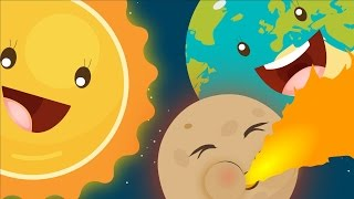getlinkyoutube.com-The Planet Song ☀☽🌎 | Solar System Song | Learning Planets For Children | Nursery Rhyme With Lyrics