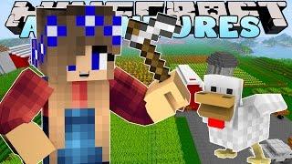 getlinkyoutube.com-Minecraft-Little Carly Adventures-NEW FARM AT THE MAGICAL KINGDOM!!