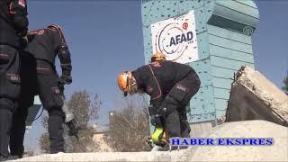 Van'da AFAD'dan deprem tatbikatı