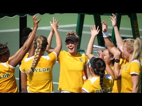Baylor Tennis (W): Highlights vs. Kansas State