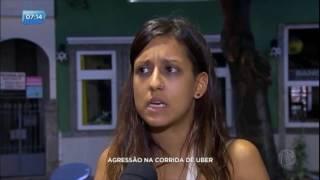 Passageiros acusam motorista da Uber de agressão