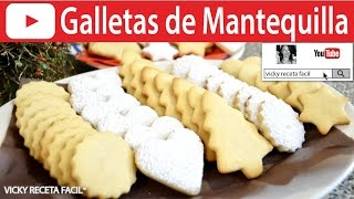 getlinkyoutube.com-GALLETAS DE MANTEQUILLA | Vicky Receta Facil