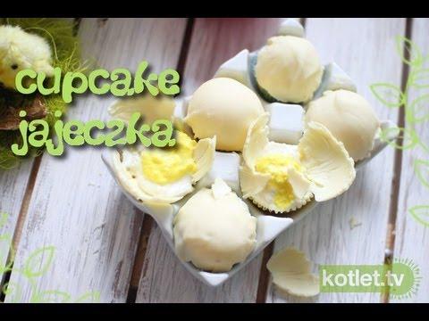 Babeczki wielkanocne jajka - Kotlet.TV