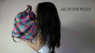 getlinkyoutube.com-TAG:¿Que hay en mi mochila?+ ¿Qué hay en mi estuche? | Beautiful day