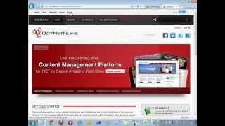 getlinkyoutube.com-최강의 ASP.NET CMS 솔루션 DotNetNuke(닷넷누크) 웹프로그래밍