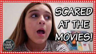 SHE GETS SO SCARED!