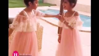 رقص لجين الزهراني وسلمي المصيري 💖