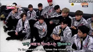 [ENG] 170103 Seventeen's boyfriend shots - Showchamp backstage