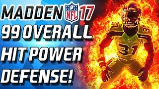 getlinkyoutube.com-99 HIT POWER DEFENSE! PLAYOFF BLITZ! - Madden 17 Ultimate Team