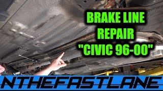 """getlinkyoutube.com-Rusted Brake Line Repair """"How To"""""""