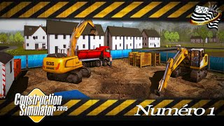 getlinkyoutube.com-Construction simulator 2015 / épisode 1 / découverte /   SOLO