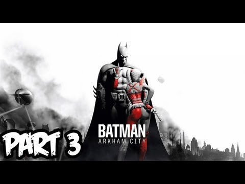 Batman Arkham City Walkthrough Part 3 HD - GIVEAWAY!! - Hello Harley! (Xbox 360/PS3/PC Gameplay)