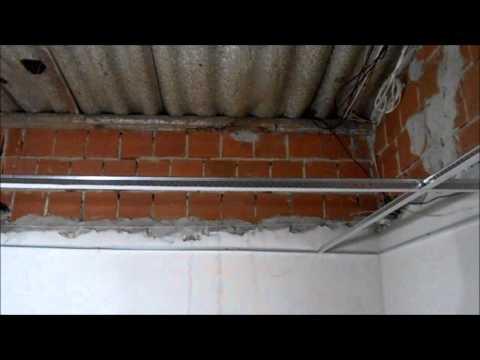 Como colocar teto de isopor em forro - Parte 02
