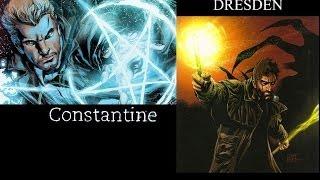 Grudge Match Unlimited 6: John Constantine vs Harry Dresden