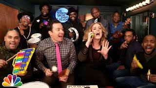 "getlinkyoutube.com-Jimmy Fallon, Adele & The Roots Sing ""Hello"" (w/Classroom Instruments)"