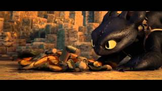getlinkyoutube.com-Hiccup riding Toothless