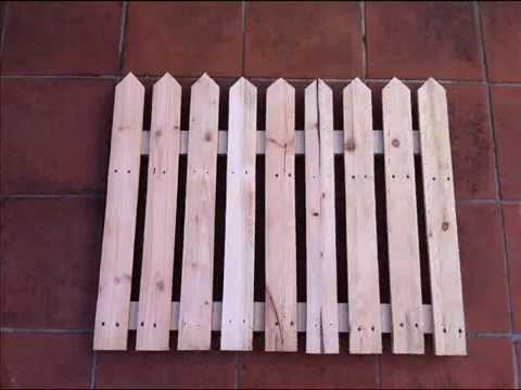 Come costruire un cancello per la staccionata fai da te for Staccionata in legno ikea