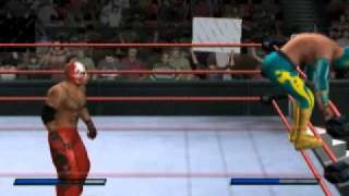 getlinkyoutube.com-SvR 2011: Sin Cara caw (ps2)